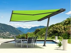 Freestanding Folding arm awning MARKILUX PLANET - markilux