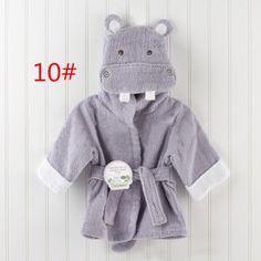 Baby Aspen Hug-alot-amus Hooded Hippo Robe - Overstock™ Shopping - Big Discounts on Baby Aspen Baby Bath Robes Cute Hippo, Baby Hippo, Baby Outfits, Baby Spa, Baby Newborn, Baby Boy Dress, Diy Vetement, Baby Towel, Baby Cartoon