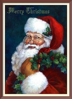 DIY Santa Claus Diamond Painting by Number KitsRound Full Drill Rhinestone Embroidery Cross Stitch Picture Art Craft for Home Wall Decor 30 Pencils-Writing Supplies Ink Rollerball Pens Accessories Flora Flowers Accessories Clocks Clocks Supplies-Equipment Christmas Scenes, Christmas Pictures, Christmas Art, Vintage Christmas, Christmas Journal, Father Christmas, Diamond Drawing, 5d Diamond Painting, Diamond Art