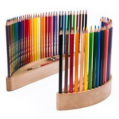Items similar to Gift for a beginner artist unique wooden colored pencils holder free personalization birthday gift kids gift gift set gift for painter on Etsy Colored Pencil Holder, Wood Pencil Holder, Colored Pencils, Pencil Organizer, Wooden Pencils, Pot A Crayon, Gifts For An Artist, Birthday Gifts For Kids, Wood Toys