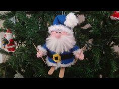 Babbo Natale Amigurumi Uncinetto 🎅🏻 Santa Claus Crochet Christmas 💙 Papa Noel Navidad Crochet 🤍 - YouTube