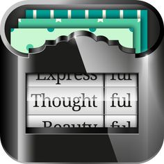 Thoughtful app icon