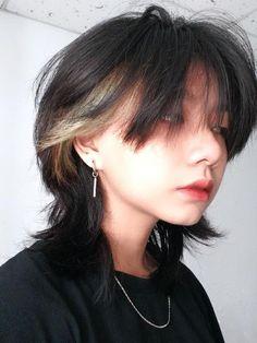 Short Hair Tomboy, Short Grunge Hair, Asian Short Hair, Short Hair Cuts, Girl Short Hair, Shot Hair Styles, Curly Hair Styles, Androgynous Hair, Mullet Hairstyle