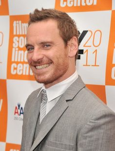 """Michael Fassbender  toothsome:  Adjective (of food) Temptingly tasty: """"a toothsome morsel"""". (of a person) Good-looking; attractive.  (I think both work oddly well for him, don't you?)"""