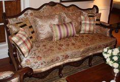 Vintage wooden sofa Version 2 | The Best Wood Furniture