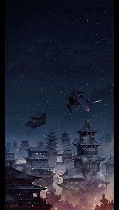 Master Anime Ecchi Picture Wallpapers City Anime Wallpapers Imagen Scenery Original Art Ciudad Montain City Ocean Asiatic (http://epicwallcz.blogspot.com/) Illustration Picture (http://masterwallcz.blogspot.com/)