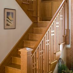 Love Craftsman Staircase Porch Style Decor Interior