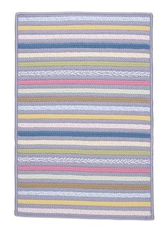 Bright Stripe Amethyst Area Rug