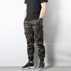 American Street Style Fashion Men's Jeans Jogger Pants Camouflage Cargo Pants Men Military Army Pants Homme Hip Hop Jeans - Men's style, accessories, mens fashion trends 2020 Mens Jogger Pants, Cargo Pants Men, Mens Camo Pants, Men Shorts, Women Pants, Jogger Pants Style, Mens Casual Jeans, Men Casual, Casual Pants