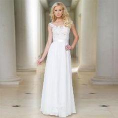 2017 Vintage Vestidos De Noiva A Line Lace Bridal Gowns Floor Length  Chiffon Wedding Gown Vintage Backless Lace Wedding Dress 039371c64c1a
