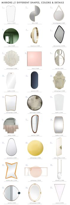 There are some awesome mirrors on the market and we rounded up our favoritesro