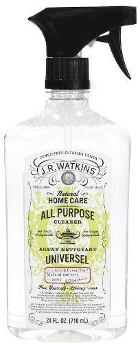 J.R. Watkins - Aloe & Green Tea All Purpose Cleaner, 24 oz liquid - http://cleaningsuppliesshop.net/j-r-watkins-aloe-green-tea-all-purpose-cleaner-24-oz-liquid
