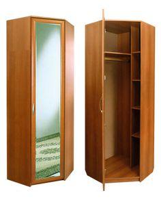 Угловой - шкаф в прихожую - Шкафы распашные, шкафы угловые - Мечта-Мебель.ру