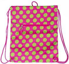 I just blogged at Online Shopping - The Best Deals, Bargains and Offers to Save You Money - Low price Drawstring Backpack Pink Green Polka Dot - Big Dots Big Discount #BestGymBag, #BestGymBags, #GymBag, #GymBags, #GymBagsForWomen, #GymSportsBags, #PrivateLabel, #SportingGoods, #ZumbaApparel Follow :   http://www.buyinexpensivebestcheap.com/13969/low-price-drawstring-backpack-pink-green-polka-dot-big-dots-big-discount/?utm_source=PN&utm_medium=Pintrest&utm_campaign=SNAP%2Bfr