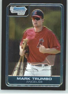 2006 Bowman Chrome Prospects #14 Mark Trumbo - Los Angeles Angels ((RC - Rookie Card / Prospect)) (Baseball Cards) by Bowman. $4.97. Bowman Chrome