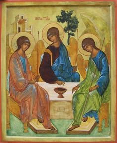 Photo: CN 006 - The Old Testament Trinity (Rublev)