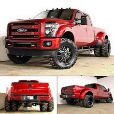 F350, I know its a Ford but love the color #Wheel #Tire Packages @ WHEEL HERO…