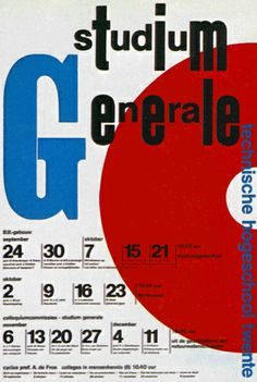 Poster designed by Dick Elffers for the Technical University of Twente 1969.