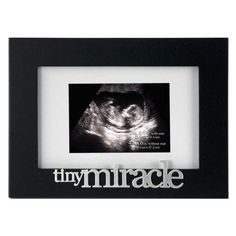 Tiny Miracle Picture Frame