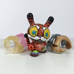 Custom Kidrobot Dunny Series 'TORA NO TSUME' from RXSE7EN!