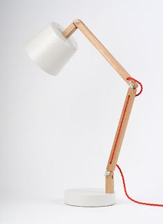 Beautifully designed lamp by rebecca snelling. Found at Daily Imprint.