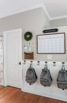Home Renovation, Home Remodeling, Home Command Center, Command Centers, Diy Casa, Home Projects, Sewing Projects, Diy Home Decor, Cheap House Decor