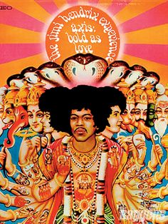 Jimi Hendrix Experience - Axis: Bold As Love (another one of my super faves)
