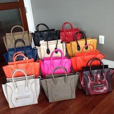 Celine bags  Different Colors