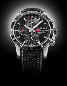 Chopard Mille Miglia GMT Chrono 2012 watch.