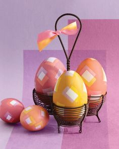 Under The Table and Dreaming: 50 Easter Egg Ideas and Inspiration {Egg Dying Techniques, Decorating, & Crafts}