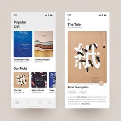 Hi there, glad to show you my new work - this is a book reading app concept, I tried to keep it clean & simple. Best Picture For simple App Design For Your Taste You are loo Ui Design Mobile, App Ui Design, Email Design, Library App, Book Of Circus, Simple App, This Is A Book, Application Design, Ui Web