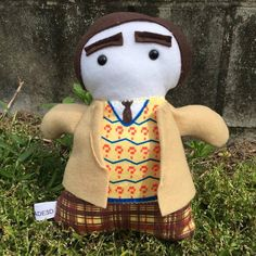 Doctor 7 Baby Plush parody - IN STOCK by Handmade3D on Etsy https://www.etsy.com/listing/253095220/doctor-7-baby-plush-parody-in-stock