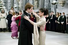 In Harry Potter and the goblet of fire, who did Harry go to the Yule Ball with? Description from rottentomatoes.com. I searched for this on bing.com/images