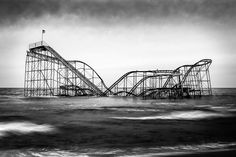 Why I jumped the caution tape to photograph an abandoned roller coaster by Matthew Clark