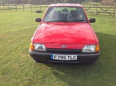 eBay: FORD ESORT MK 4 1.6 L automatic time warp condition 5 door only 37,000 miles #classiccars #cars