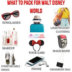 Disney packing checklist for your vacation. #disneyworldplanning #vacationpackinglist #vacationchecklist #disneypackinglist #disneyworld #waltdisneyworld #disneyworldtips