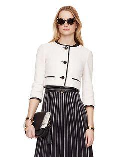textured jacquard jacket - Kate Spade New York