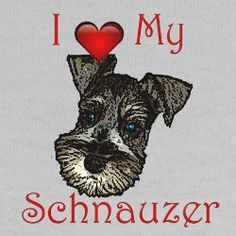 Schnauzers! We presently are owned by #13 & #14 schnauzers (Callie & Lexi) and grand dog (Bella) our first few were salt and pepper, then silver, and now all three are black.