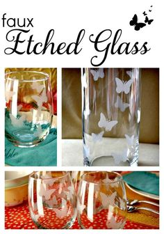 Faux Etched Glass #showmetheshine #ad