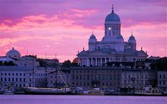 Helsinki: With my friends last year. Wonderful city.I felt something magic was goin on there