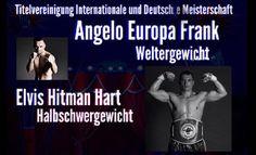 """Angelo """"Europa"""" Frank vs. Andreas Reimer - WINNER Wiking Event hat in Zusammenarbeit mit der EC-Boxpromotion ein buntes Rahmenprogramm zusammengestellt."""