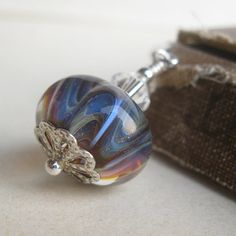 Mystery Boro lampwork Bookmark One of a kind ooak by dkjewels, $16.00