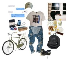"""""""my brother's best friend"""" by nadyaarw on Polyvore featuring Raf Simons, Crate and Barrel, Retrò, Converse, men's fashion, menswear, 90s, artstudent and artkid"""