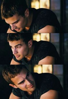 Theo James as Four/Tobias Eaton in Divergent Tris E Quatro, Hunger Games, Tris Und Four, Film D'action, Divergent Series, Four From Divergent, My Sun And Stars, Veronica Roth, Hot Guys