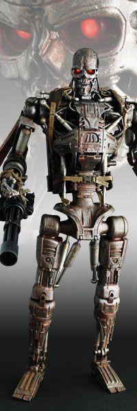 T-600 Collectible Figure - Terminator Salvation