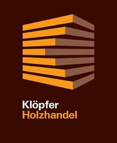 Klöpfer Hotzhandel : Logo - You wouldn't expect a corporate logo for a German timber handling company to be anything terribly exciting, yet here it is, with precision, depth and even movement created with the minimum of elements...K