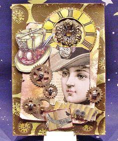 Steampunk - Card - Din A5