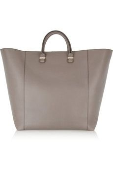 Victoria Beckham | Shopper leather tote | NET-A-PORTER.COM - StyleSays