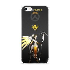 Overwatch Mercy iPhone 5/5s/Se, 6/6s, 6/6s Plus Case