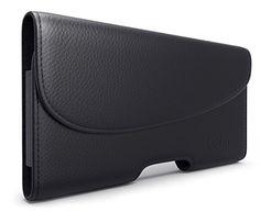 Galaxy Edge Plus Belt Case, Debin Leather Galaxy Edge Plus Holster Case  with Belt Clip Belt Pouch Case, Secured Loops Belt Carrying Holder for  Samsung ... 01d5cf2e5b8
